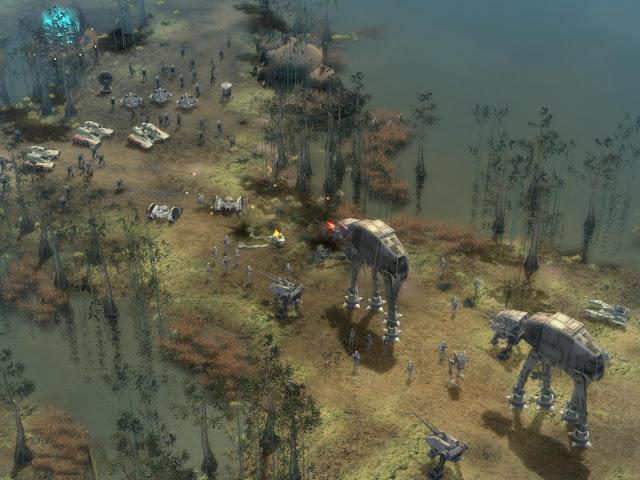 Star Wars Empire at Wars Gameplay