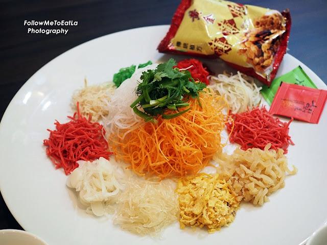 Yee Sang With Salmon.