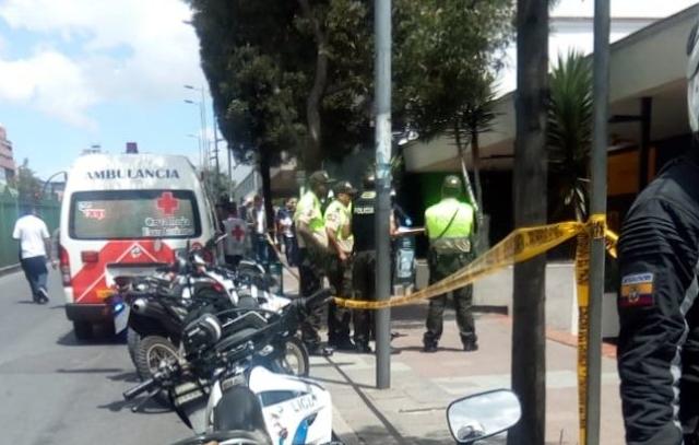 asaltan y matan a cliente del Banco Pichincha