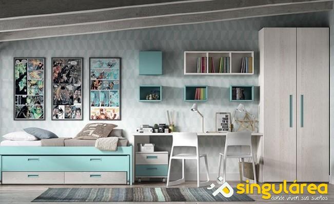 Dormitorio juvenil doble 1588 - Dormitorio juvenil doble ...