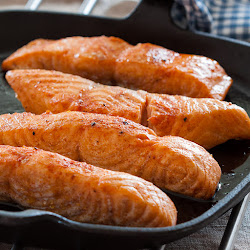 Fileti lososa pečeni u rerni