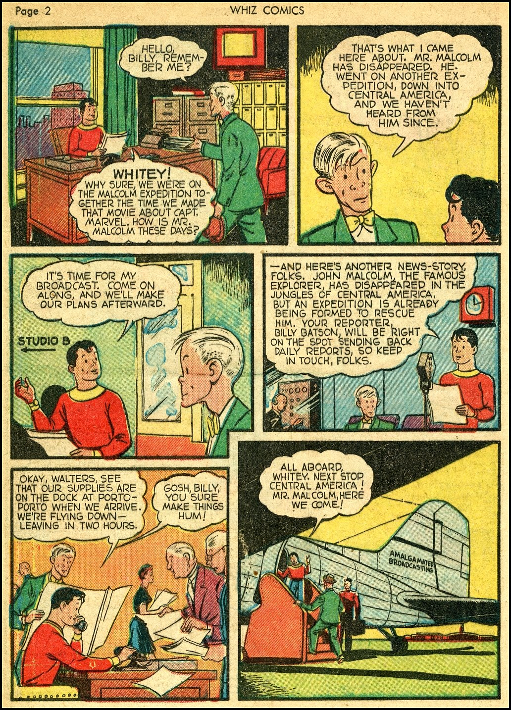 WHIZ Comics issue 22 - Page 4