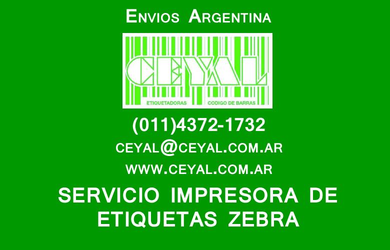 Asistencia tecnica impresora de etiquetas Zebra