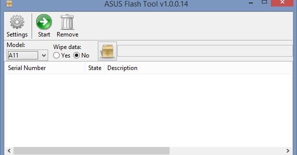 How to Fix unbrick Asus Zenfone 5 T00J stuck on Logo
