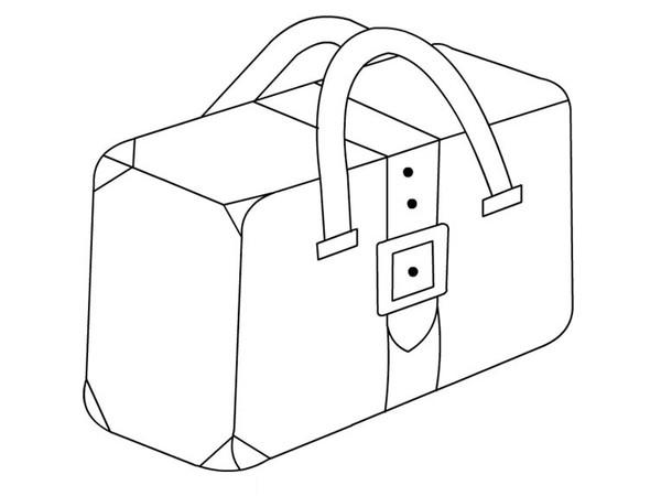 maleta para colorear para niños