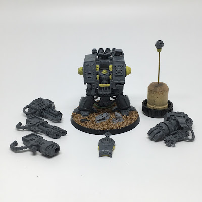 Deathwatch Dreadnought - build complete - Dreadtober 2016