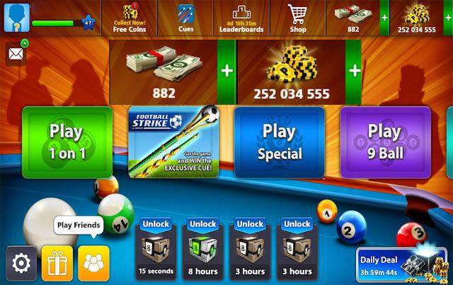 كوينز 8ball pool بلياردو للبيع
