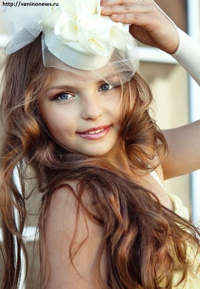 Тулячка Анастасия Сивова красивая девочка