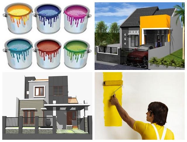 Memilih Warna Cat Rumah Minimalis