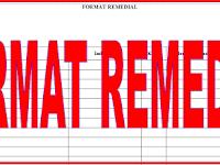 Download Contoh Format Remedial Evaluasi Belajar Siswa