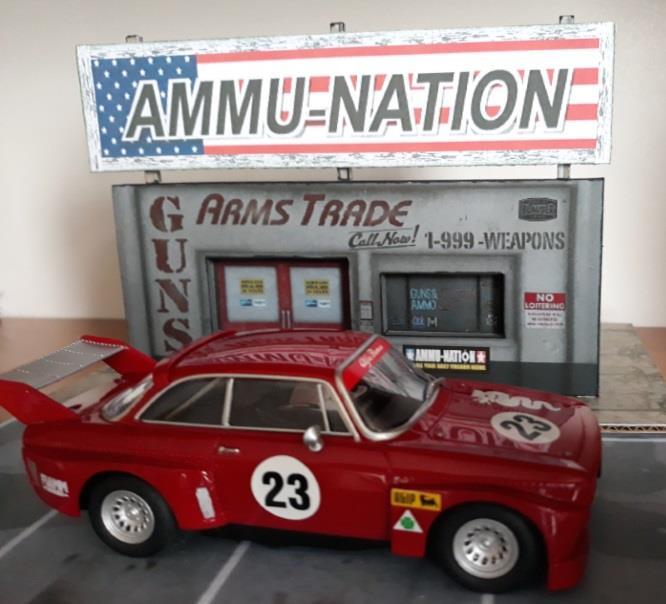 PAPERMAU: The Ephemeral Museum - GTA V - Ammu-Nation Gun