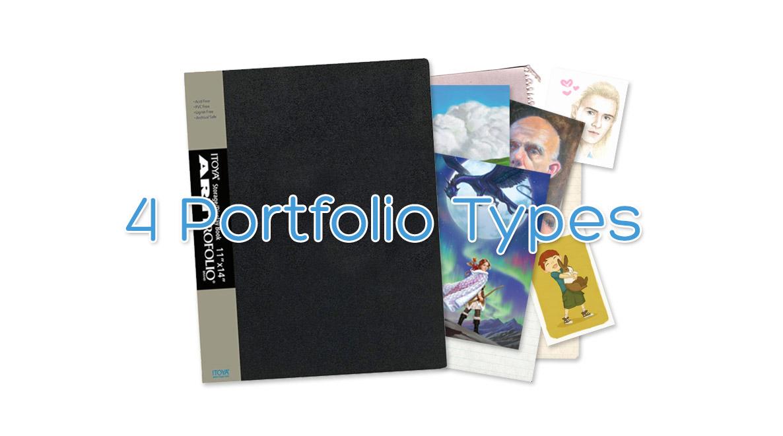 Kelley McMorris illustration: 4 Portfolio Types