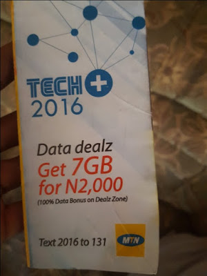 Unfortunately, MTN 7GB For N2000 Ends Tonight 23rd July