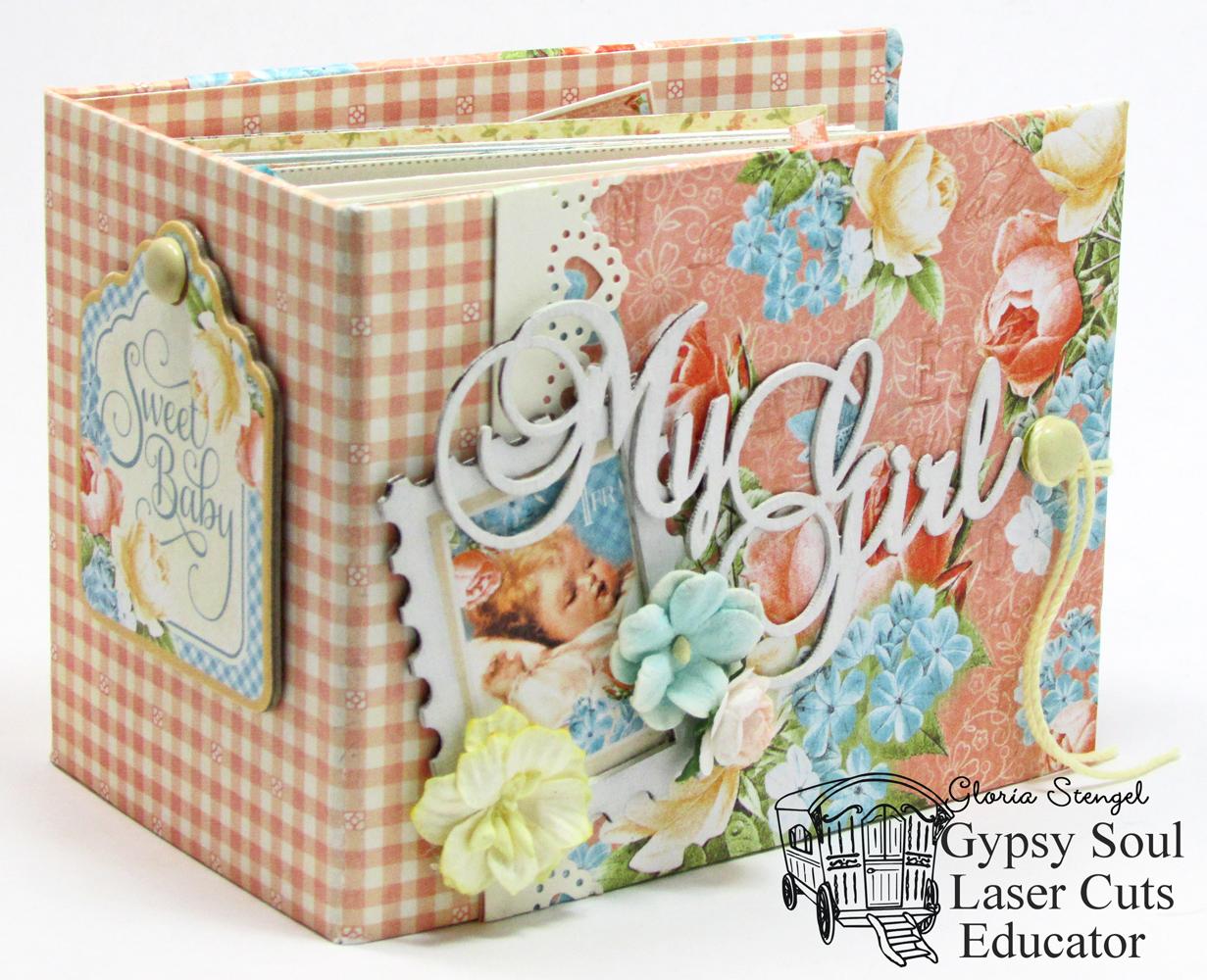 Gypsy Soul Laser Cuts Baby Girl Brag Book With Gloria