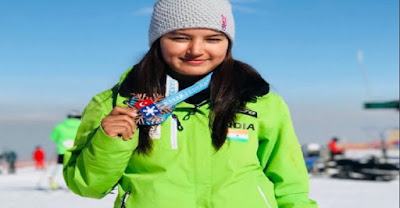 India bags 1st International Medal in Skiing