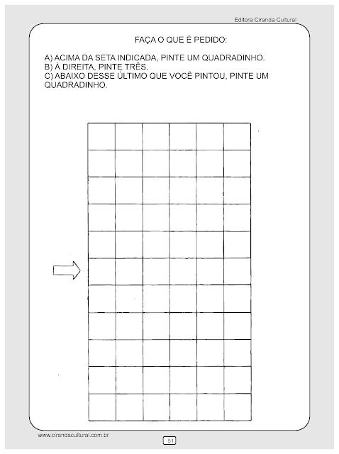 atividades matematica direcao