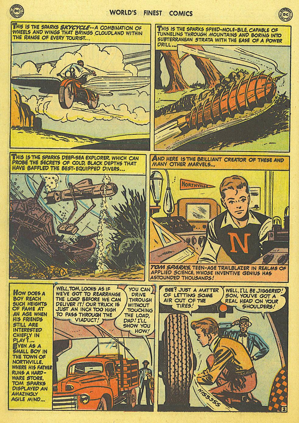 Read online World's Finest Comics comic -  Issue #49 - 31