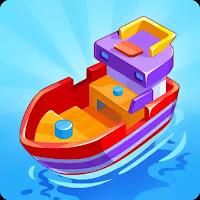 Merge Ship: Idle Tycoon (Mod Apk Free Shopping)