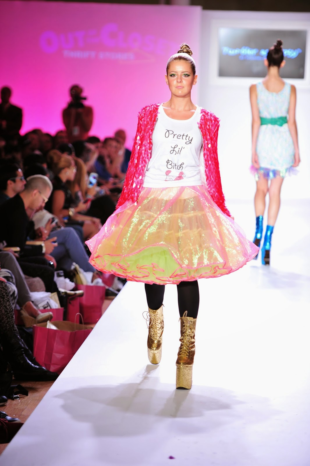 952458cca9d  TBT - Brielle Zolciak-Biermann walks the Tumbler and Tipsy Spring Summer  2014 New York Fashion Week Runway presented by Aids Healthcare Foundation.