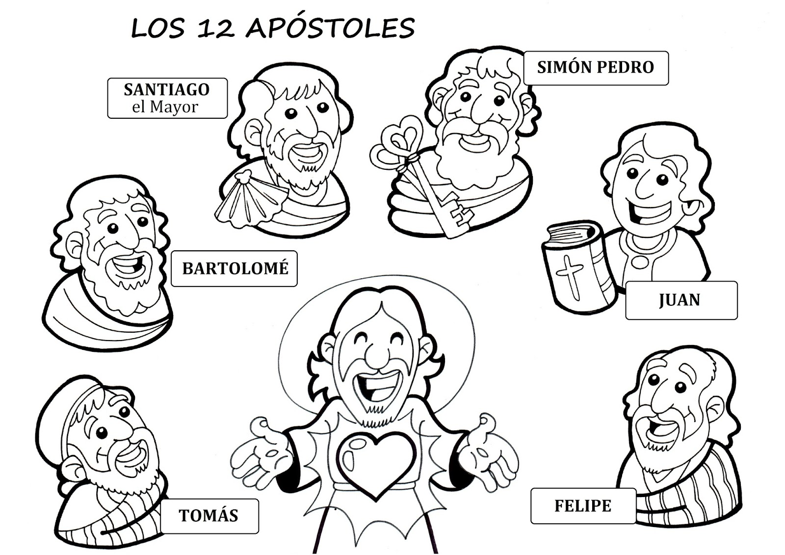 Dibujos Para Colorear Del Bautismo De Jesus