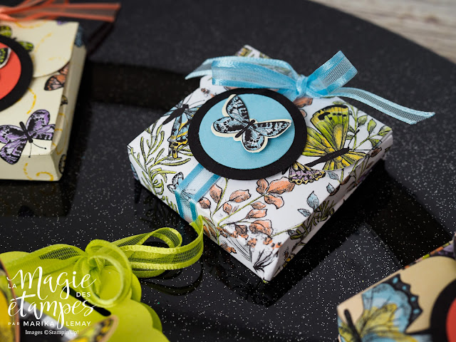 porte chocolats décorés Stampin' Up!