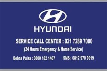 Informasi Layanan Hotline Call Center dan Emergency Call Hyundai Mobil Indonesai