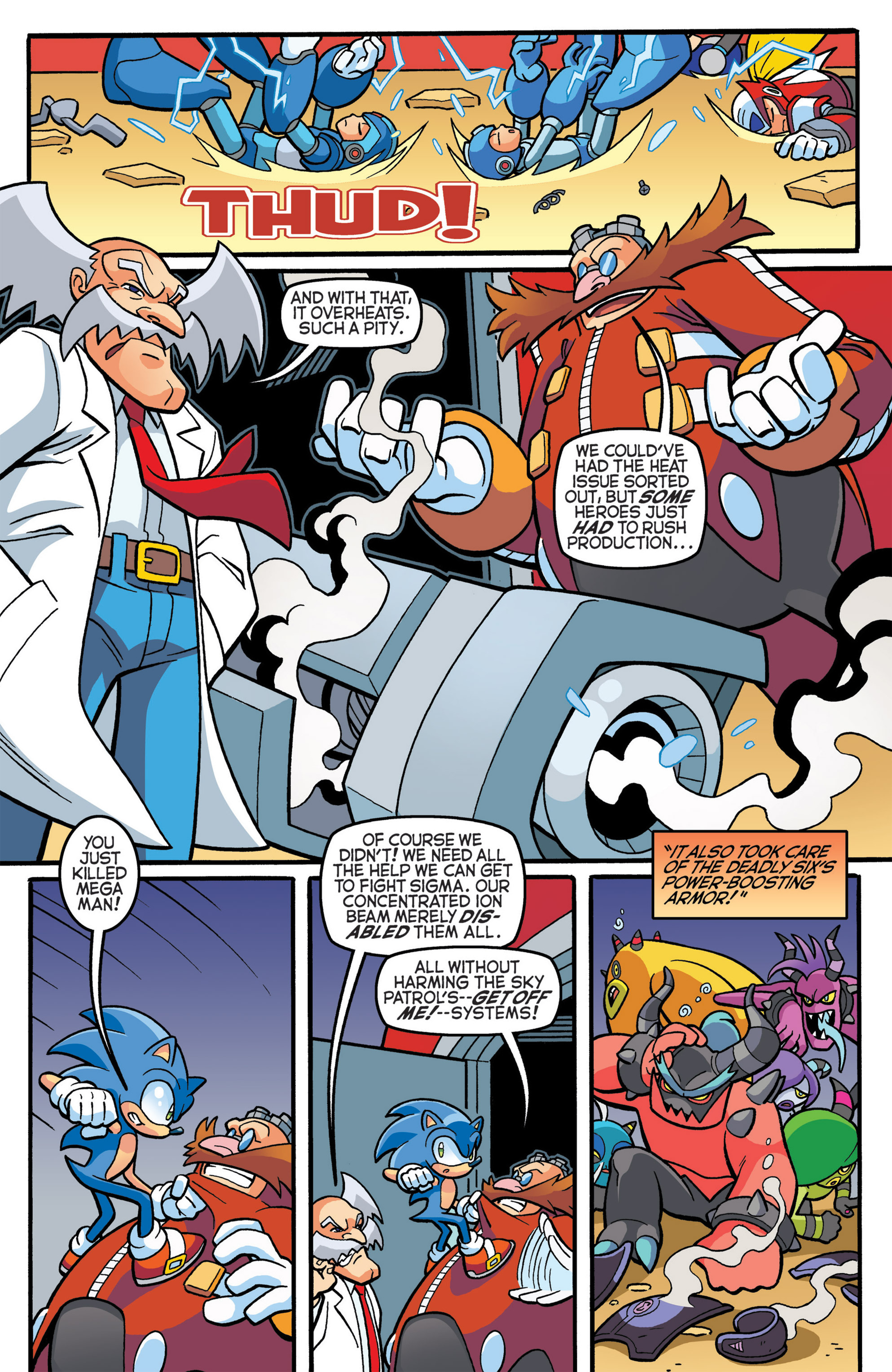 Read online Sonic The Hedgehog comic -  Issue #274 - 15