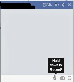 Send Audio Message in Comment or Inbox Messages On Facebook via PC or Laptop demo image