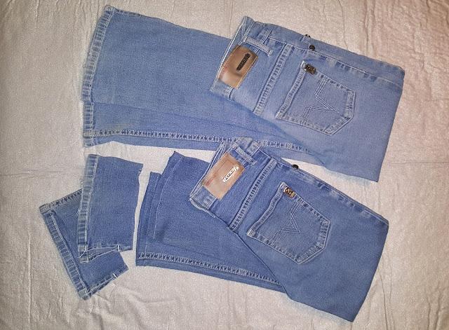 Jak zkrátit nohavice u jeansů