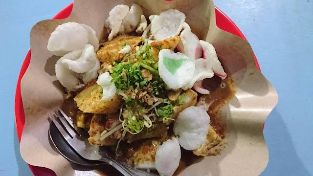 Tahu Telor Tenda Biru Piridifoodies Food Blogger