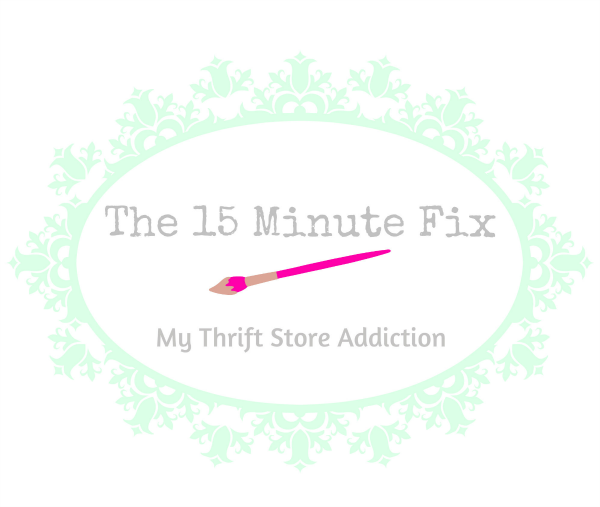 Friday's Find #135 mythriftstoreaddiction.blogspot.com New Series: The 15 Minute Fix