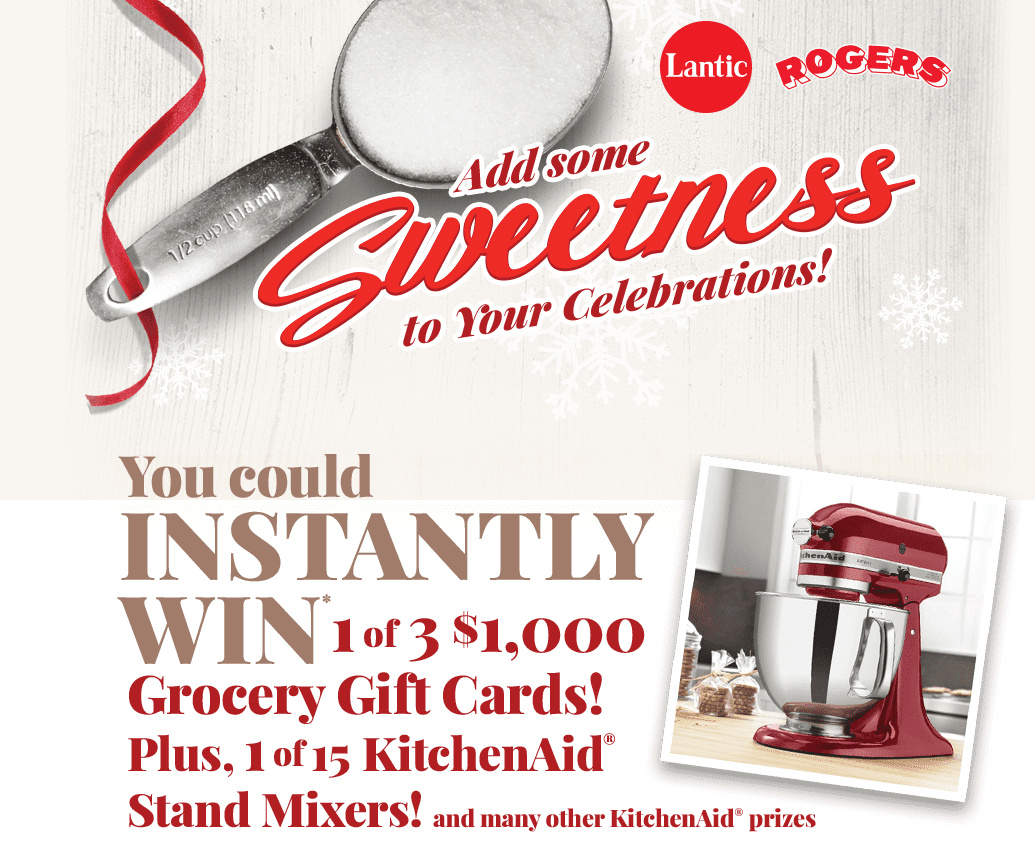 15 Kitchenaid Stand Mixers Grocery Gift Cards Available To Win