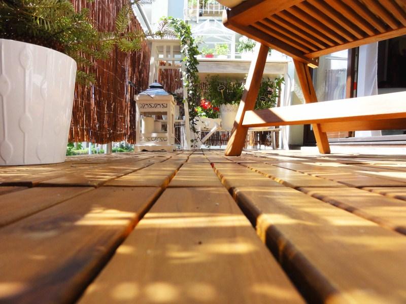 Dekorator Amator Drewniana Podłoga Na Balkon