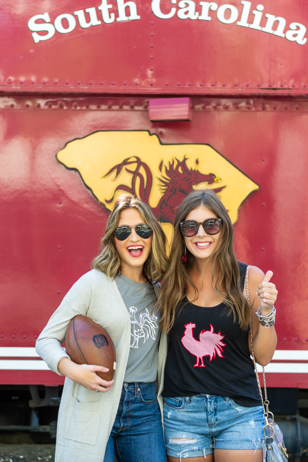 What To Wear To A College Football Game | Chasing Cinderella