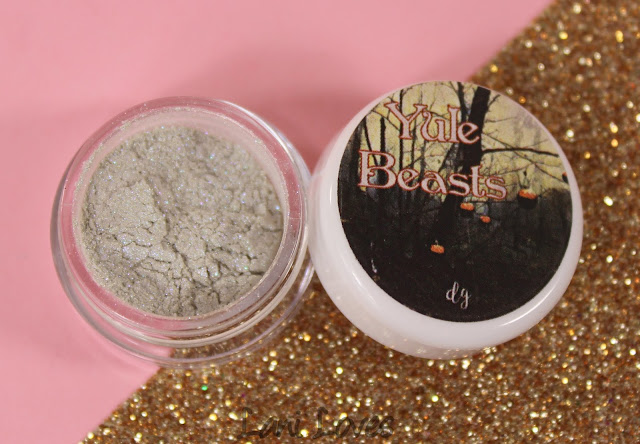 Darling Girl Eyeshadow - Krampus Swatches & Review