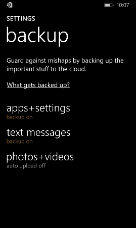 Reset your phone and post reset tasks for Windows Phone 8 1