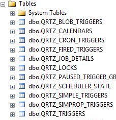 Quartz NET 3 0 2 Configure AdoJobStore JobStore Sql server