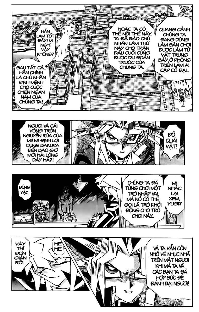 YUGI-OH! chap 320 - trò chơi bóng tối cuối cùng trang 8