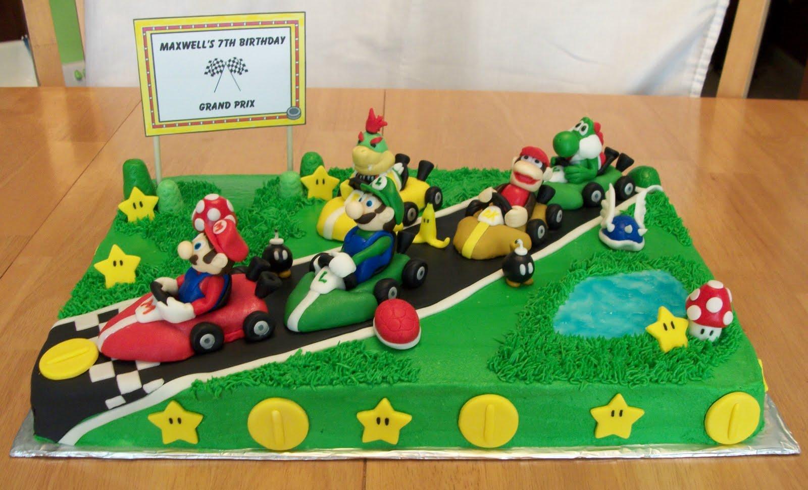 Bellissimo Specialty Cakes Mario Kart Cake