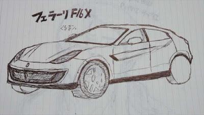 フェラーリ初のSUV 最新画像
