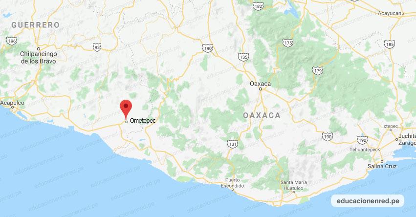Temblor en México de Magnitud 4.0 (Hoy Jueves 25 Junio 2020) Sismo - Epicentro - Ometepec - Guerrero - GRO. - SSN - www.ssn.unam.mx