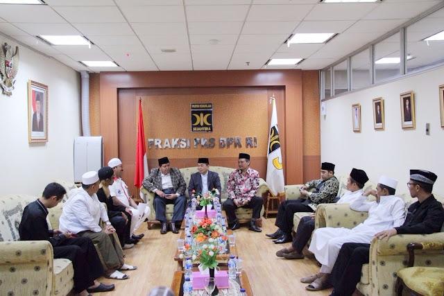 Fraksi PKS Dengar Masukan Ulama tentang Konten Tayangan Televisi