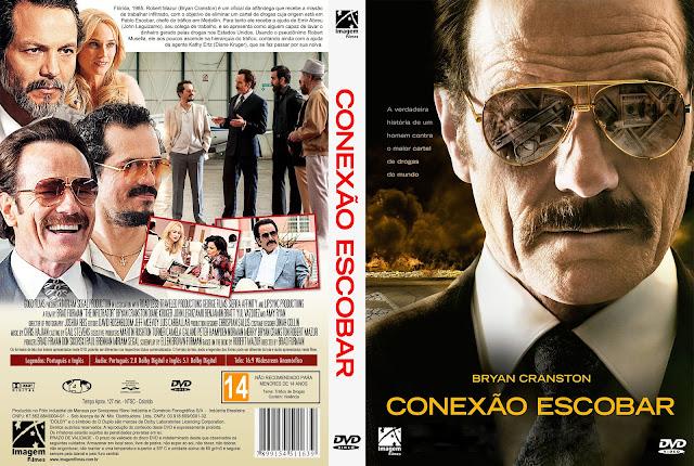 Capa DVD Conexão Escobar