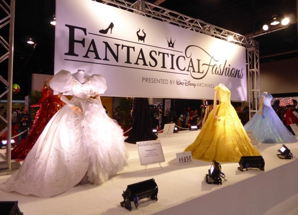 Fantastical Fashions Disney costumes D23 Expo 2017