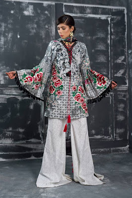 Latest designer lawn collection 2017 for girls