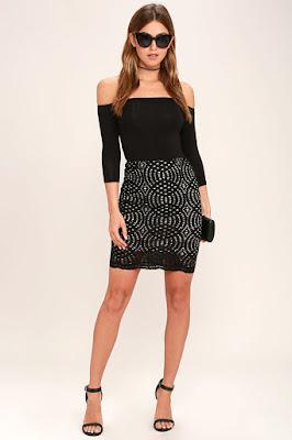 Faldas de moda sencillas