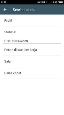 Aplikasi Whatsapp Buisness