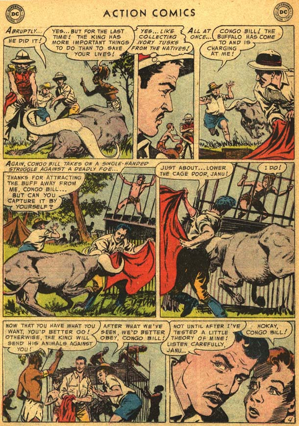 Read online Action Comics (1938) comic -  Issue #210 - 22