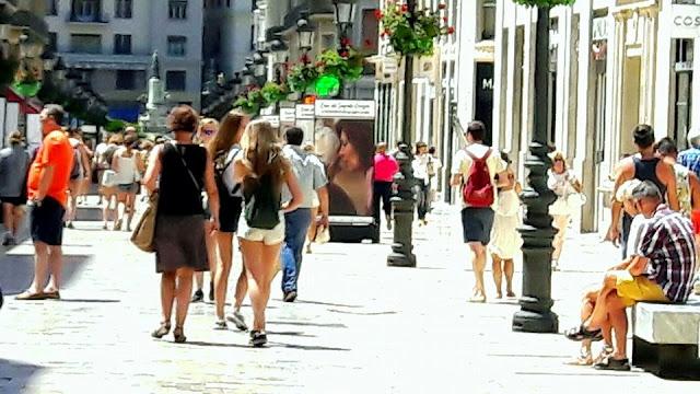 Larios Street - Malaga Trips