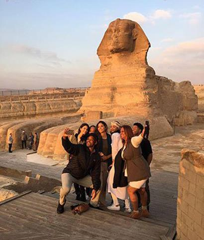 Will Smith in Egypt